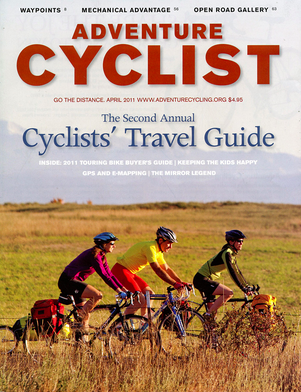 Adventure Cyclist April 2011
