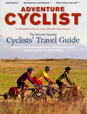Adventure Cyclist April 2011