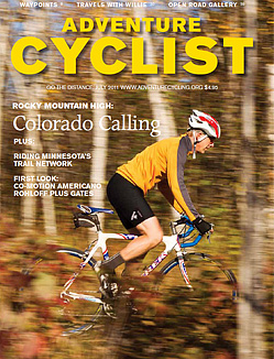 Adventure Cyclist August 2011