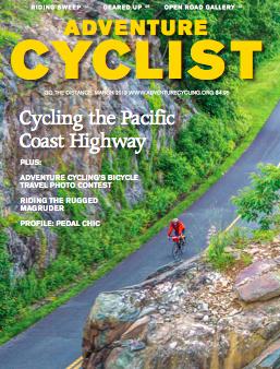 Adventure Cyclist April 2013